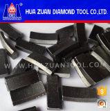 Segment de peu de noyau de diamant de Huazuan pour le béton armé
