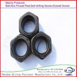 DIN934 Zinc brut Filetage à pas de boulon hexagonal, à filetage fin
