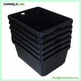 Serviço Pesado com tampa de plástico grande armazenagem sólida caixa durável