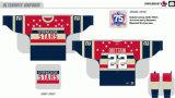Hokey di ghiaccio americano personalizzato di scricchiolio 2007-2013 di Siracusa della Lega di Hockey dei capretti delle donne degli uomini Jersey