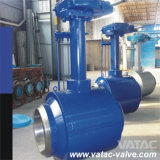 Valvola a sfera piena ad alta pressione della saldatura A105/Lf2/F11/Ss304/Ss316