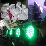 Fase 3W Sharpy della discoteca 108 del DJ che sposta l'indicatore luminoso del fascio del LED