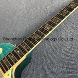 Kits de guitare de DIY LP / Grand Musique / Lp guitare électrique avec de l'Ébène poutre en bleu Burst (GLP-139)
