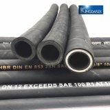 철강선 땋는 유압 고무 호스 (DIN 1SN/EN853)