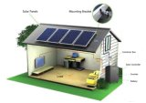 Sonnenkollektor-Ausgangsbeleuchtung-Energie Wechselstrom-1000With150ah/220V auswechselbare/Energie-System