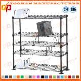 Mensola della rete metallica della scaffalatura di memoria della stanza da bagno della cucina del bicromato di potassio (Zhw155)
