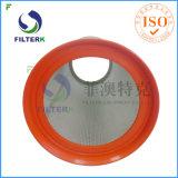 Cartucho lavable del filtro de aire del colector de polvo del poliester de Filterk