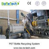 Бутылка машинного оборудования продукции 1500 хлопьев любимчика Kg/H пластичная рециркулируя линию