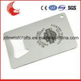 Liberar el diseño del abrelatas de botella en blanco Shaped de la tarjeta de crédito