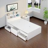 Preiswertes modernes hölzernes einzelnes Bett
