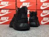 Última Huarache 4 IV zapatillas para hombres, mujeres, Blanco y negro de alta calidad de color gris Triple Huaraches Sneakers zapatos deportivos para correr