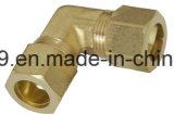 American Brass Haute qualité Comp Union coude connecteur ajustable avec noix