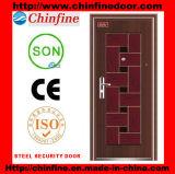 Portes en acier de garantie avec le prix bas (CF-026)