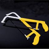 Extraordinariamente densamente mini marco ajustable de la sierra para metales