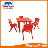 Kinder Furniture Blue Kids Plastic Study Table und Chair