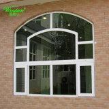 판매를 위한 PVC 비닐에 의하여 활 모양으로 하는 Windows