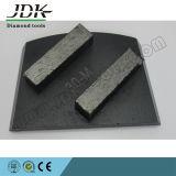 2つの長方形のダイヤモンドセグメント台形の粉砕の靴