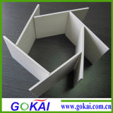 Folha da espuma do PVC da baixa densidade para materiais de anúncio