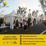 Белый шатер 4X4m Pagoda высокого пика крыши для мероприятий на свежем воздухе