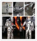 기관병 화재 싸움을%s 차림새에 의하여 알류미늄으로 처리되는 내화성이 있는 화재 한 벌