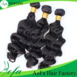 直接Aofaの毛の工場卸し売り最上質ボディ波100%の加工されていない人間の毛髪
