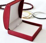 Casella di memoria di cuoio dei monili del lusso e di qualità per i gioielli (Ys334)