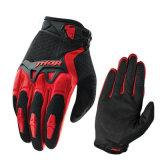 Vendendo i guanti di corsa che attraversano il pæse del motociclo di sport (MAG58)