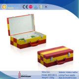 Reeks van het Backgammon van het Leer van Pu de Speel (4083R1)