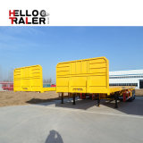 De Aanhangwagen van het nut Semi Aanhangwagen van de Container van 40 voet Flatbed