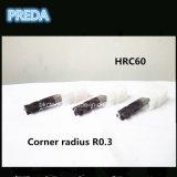 Stock에 있는 HRC60 Corner Radius Bits Coated