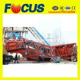 25m3/H - Beweegbare Concrete het Groeperen 75m3/H Installatie met de Chassis van de Vrachtwagen