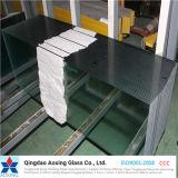 claro de 3mm-19m m/vidrio de flotador ultra claro con SGS, certificados de la ISO