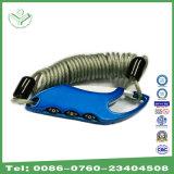 3 Digit-Zink-Legierungs-Farben-Kombinationsschloß mit Seil für Beutel, Luggage& Koffer (301FT)