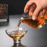 Borosilicat-Glas-Tee-Hersteller Pyrex GlaswarenTeacup anpassen