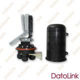 Fermeture thermo-rétrécissable d'épissure de fibre optique de dôme