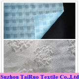Mousseline de soie gravée en relief par polyester 100% pour Madame Scarf et chemise