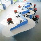 6つのシートの人間工学的の専門の有用なオフィス・コンピュータワークステーション(SZ-WST659)