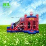 Almofada insuflável do carro fantástico de alta qualidade populares Kids Jumping combinação para despertar o interesse dos filhos de exercícios