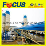 Grandes instalações de criação de lote de Concreto, Hzs120 Planta de mistura de concreto do transportador de correia