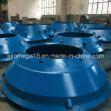Sale caldo Mantle e Concave per Cone Crusher
