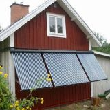 tubo de vácuo tubo de calor colectores solares térmicos para o sistema de aquecimento de água quente
