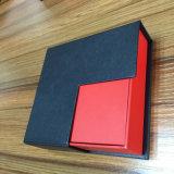 Различно - определенная размер коробка подарка ювелирных изделий с подносом выровнянным бархатом для того чтобы исправить добро ювелирных изделий