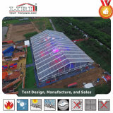 500 Gast-transparentes AluminiumHochzeitsfest-Zelt