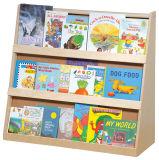 Présentoirs en bois de bruit, crémaillères d'étalage de livre