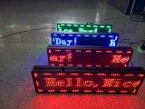 Muestra de pantalla de LED de interior de un solo color para el mensaje de desplazamiento