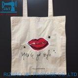 Novo Estilo de lona preta Tote Bag Bolsa de lona de algodão Personalizada Dom Sacola de Compras