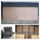 madera contrachapada de la piel de la puerta de la madera contrachapada de la chapa de 720/820/920*2050*2.7m m Okoume para la puerta enrasada