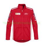 Высокое качество горячей воды Красного Soft Shell куртка работы ткань одежды Coverall Workwear короткое замыкание