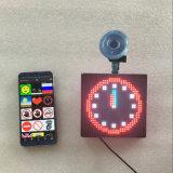 Segno Smiley completo dell'automobile del fronte di colore LED Emoji del messaggio mobile mobile del telefono LED di Bluetooth del tassì dell'automobile del LED Emoji o della maschera di animazione