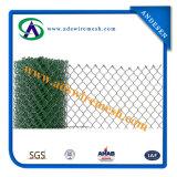 Il PVC ha ricoperto il reticolato della rete fissa di collegamento Chain/collegamento Chain galvanizzato Fenc